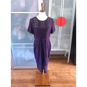 NWT Cynthia Steffe Purple Swirl Dress